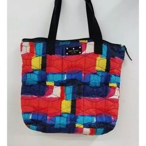 KATE SPADE Quilted Multi-Color Tote